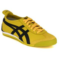 asics tiger mexico 66 yellow zip lining