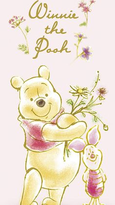 ディズニー プー(Winnie-the-Pooh),ピグレット(コブタ、Piglet) iPhone8/7/6s/6(750×1334)壁紙 画像58780 スマポ