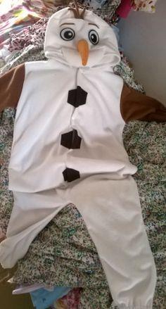 Kids Olaf Onesie https://www.facebook.com/GirlsOuting Kids Wear - Find costumes HERE!!  http://on.fb.me/1dhtm7d