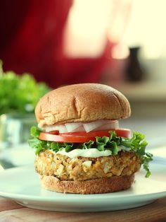 Chipotle Lentil Patties from 'The make ahead vegan cookbook'