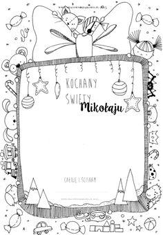 Trendy w kategorii edukacja w tym tygodniu - Poczta Christmas Crafts For Toddlers, Toddler Crafts, Christmas Time, Merry Christmas, Christmas Ideas, Polish Language, Letter Writing, Dear Santa, Christmas Printables