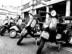 My Vespa PK on the Brighton Scooter Club RSPCA Charity Ride