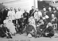 Tsarevich Nicholas (later Tsar Nicholas II) during his visit on India; 1890.