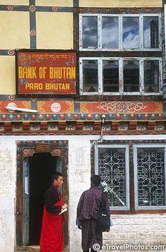 Bank of Bhutan. Paro, Bhutan http://www.travelbrochures.org/109/asia/going-to-bhutan