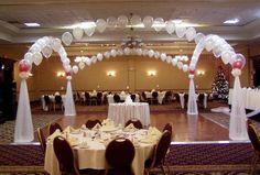 decorazioni matrimonio palloncini