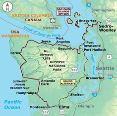 Washington Parks | Adventure Cycling Route Network | Adventure Cycling Association