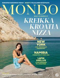 Mondo 3/2016   Mondo.fi New York, Cover, Nice, New York City, Nyc