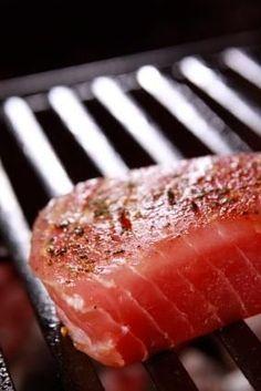 Grilling Tuna Steaks