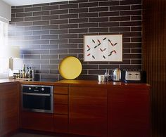 1950s modernism in Pimlico - a council flat conversion - Design Hunter - UK design & lifestyle blog #teak #kitchen