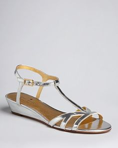 kate spade new york Demi Wedge Sandals - Violet | Bloomingdale's ... @Melissa Herald. thoughts on flat or short wedge sandals?