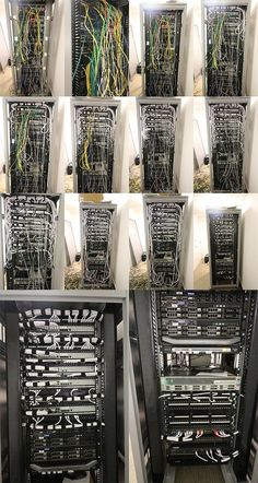 Data cabinet tidy