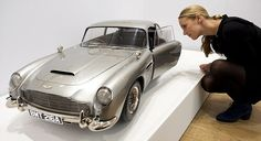 1/3 scale model 007 Aston Martin DB5 used in the filming of Skyfall