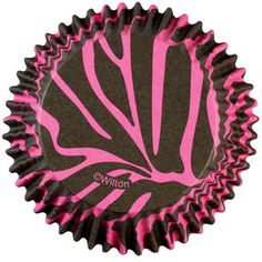 Pink Zebra ColorCup Baking Cups