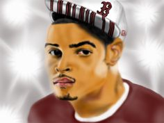 This is a digital portrait comicbook style that I did for T.I. I sent it, but no response yet. Maybe he hates it or it has been trash. Who knows?