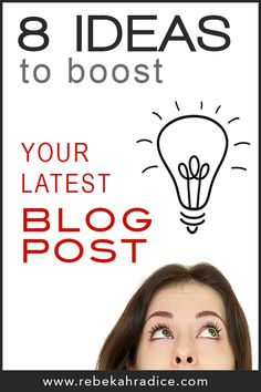 Viral Marketing: 8 Ideas to Boost Your Latest Post http://rebekahradice.com/boost-your-latest-blog-post/ https://www.facebook.com/PoorManPublishing