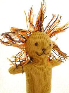 Lion doll dentsdeloup / Etsy
