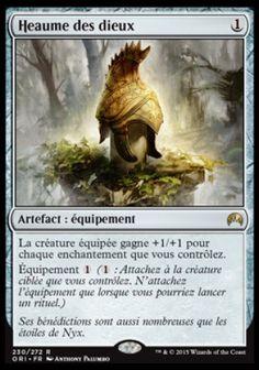 Heaume des dieux - magic-ville.com