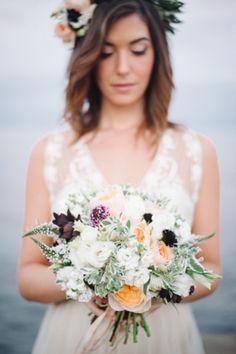 Birchbox Bride: Sunset Cliffs Bridal Shoot (Photo by Honest Films  via Magnolia Rouge)