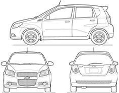 Drawing car blueprints in blender blender models blender tutorial blueprints for 3d modeling malvernweather Images