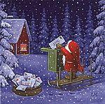 Мобильный LiveInternet Christmas Magic / Eva Melhuish   teanika - Дневник teanika  