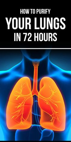 It is very easy to purify your lungs. Here, some of the effective ways that quickly helps to purify your lungs in 3 days or 72 hours only.