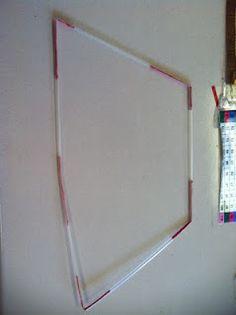 Teach geometry using straws and twist ties