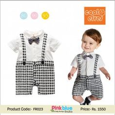 One-Piece Baby Boy Romper Outfit  24655d1b3c