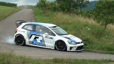 Test VW Motorsport   Polo WRC   Sebastien Ogier   Brauneberg [HD] Devill...