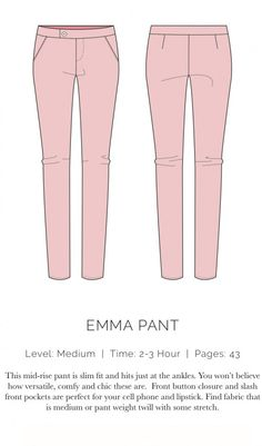 Emma pants by Spit Up & Stilettos