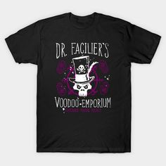 Voodoo Emporium T-Shirt - Dr. Facilier T-Shirt is $14 today at TeePublic!