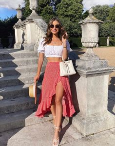 Cute Casual Outfits, Simple Outfits, Stylish Outfits, Looks Chic, Looks Style, Summer Fashion Outfits, Spring Outfits, Summer Outfits Women, Summer Dresses