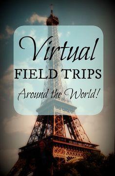Virtual Field Trips Around the World- Kid World Citizen http://kidworldcitizen.org/2014/08/23/using-web-take-kids-virtual-field-trips/
