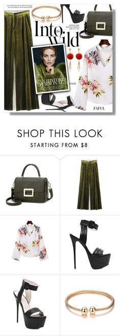 """""""Zaful"""" by sans-moderation ❤ liked on Polyvore featuring Anja"""