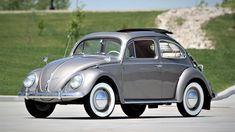 Visit the post for more. Beetles Volkswagen, Volkswagen Bus, Vw Camper, Old Vintage Cars, Car Restoration, Luggage Rack, Unique Cars, Porsche 356, Cool Cars