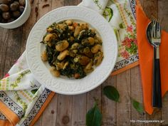 Lima Beans with spinach