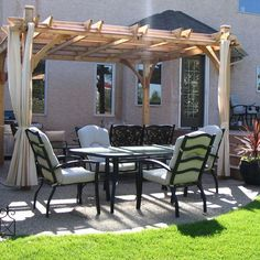 Besides gentle breezes, pergolas can help take the edge off the heat while you're grilling, entertaining and celebrating the sights and sounds of summer. See tips on keeping cool on your pergola on The Home Depot's Garden Club.