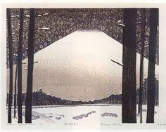 Hideo Hagiwara   woodcut