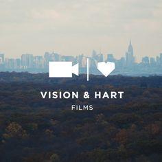 Vision & Hart Films Logo // Branding + Design by Hey, Sweet Pea