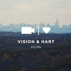 Vision & Hart Films Logo // Branding + Design by Hey, Sweet Pea