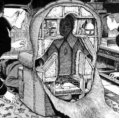 The human chair by Junji Ito