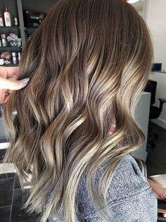 beige and bronde highlights and lowlights