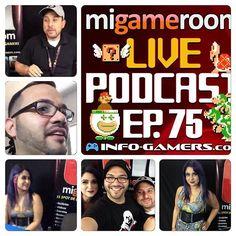 Gracias @issygeek por estar con nosotros en el #podcast 75. #gaming