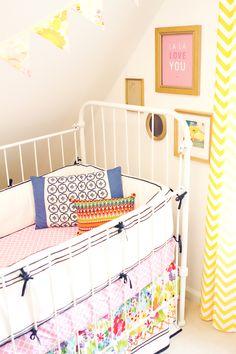 Colorful Crib