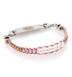 Pink Lady Medical ID Bracelet #laurenshope