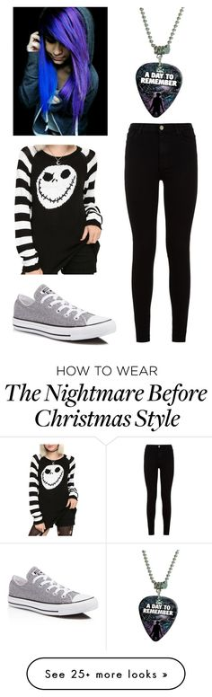 """""""Untitled #180"""" by beannanna on Polyvore featuring 7 For All Mankind and Converse"""