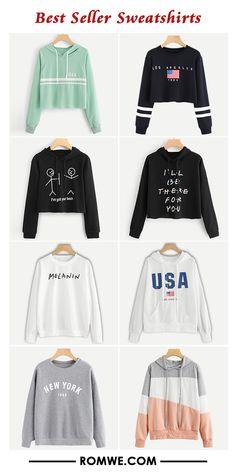 best seller sweatshirts from romwe.com