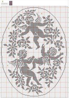espace lilas: Angels filet / anges Filet Crochet
