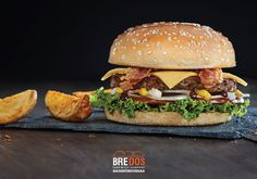 Campaña para Bredos, hamburguesas tocino. Fotografía: Esteban Brocos