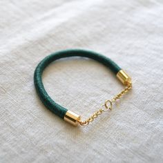 brika forest sucre rope bracelet by goldhearted jewelry.