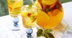 A refreshing iced tea is the perfect way to cool down on a hot summer day.